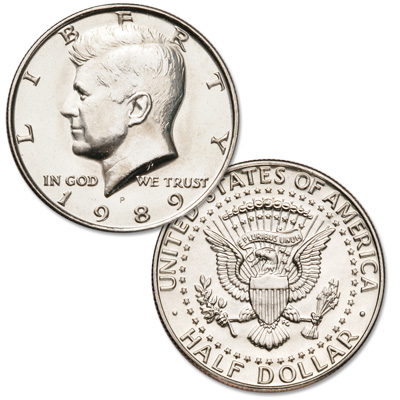 Image for 1989-P Kennedy Half Dollar from Littleton Coin Company