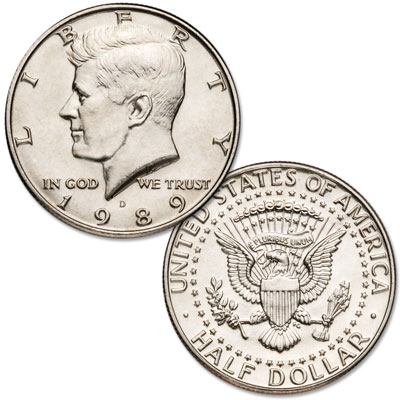 Image for 1989-D Kennedy Half Dollar from Littleton Coin Company