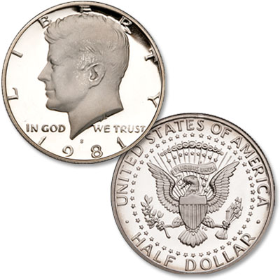 Image for 1989-S Kennedy Half Dollar from Littleton Coin Company