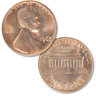 Image for 1965 Lincoln Head Cent from Littleton Coin Company