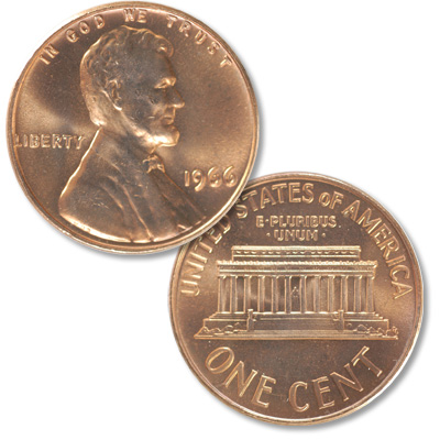 Image for 1966 Lincoln Head Cent from Littleton Coin Company