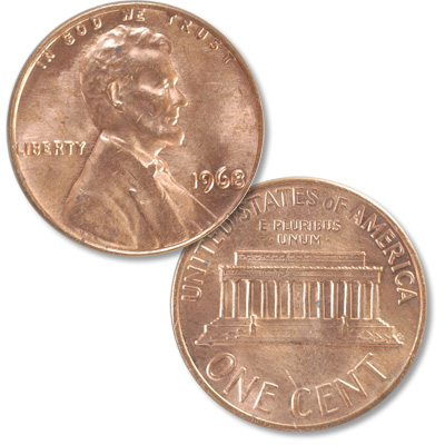 Image for 1968 Lincoln Head Cent from Littleton Coin Company