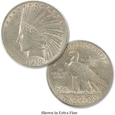 Image for 1912-S Indian Head $10 Gold from Littleton Coin Company