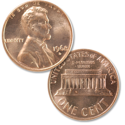 Image for 1968-D Lincoln Head Cent from Littleton Coin Company