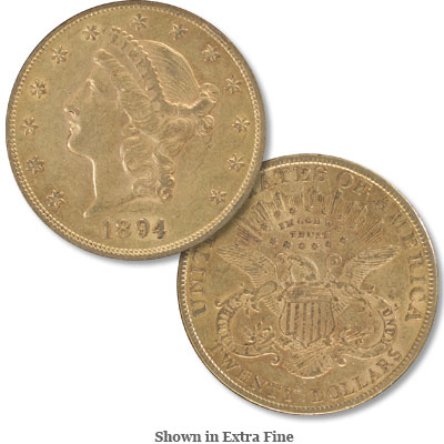Image for 1894 Liberty Head $20 Gold from Littleton Coin Company