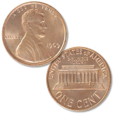 Image for 1969 Lincoln Head Cent from Littleton Coin Company