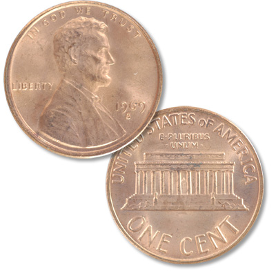 Image for 1969-S Lincoln Head Cent from Littleton Coin Company
