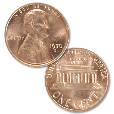 Image for 1970-S Lincoln Head Cent Large Date from Littleton Coin Company