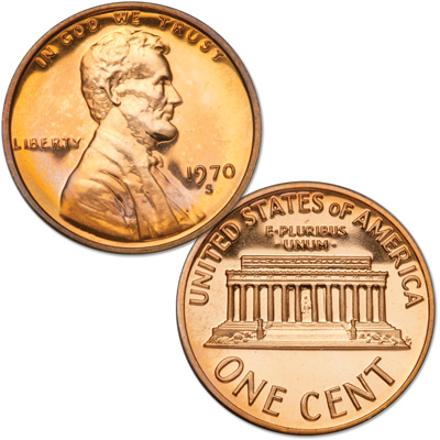 Image for 1970-S Lincoln Head Cent Large Date, Proof from Littleton Coin Company