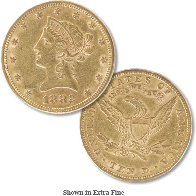 Image for 1882 Liberty Head $10 Gold from Littleton Coin Company