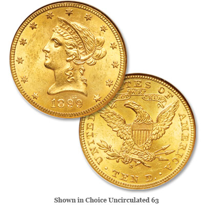Image for 1899-S Liberty Head $10 Gold Eagle from Littleton Coin Company