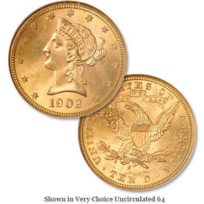 Image for 1902-S Liberty Head $10 Gold Eagle from Littleton Coin Company