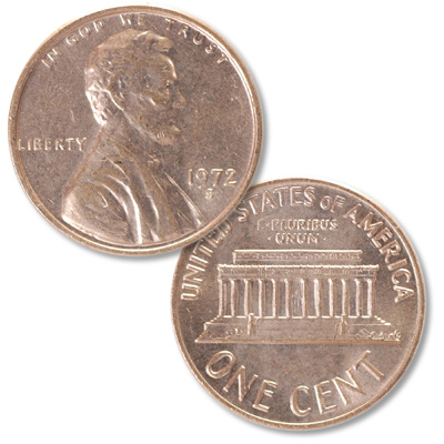 Image for 1972-S Lincoln Head Cent from Littleton Coin Company