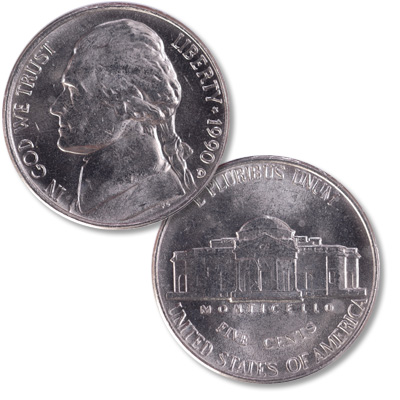 Image for 1990-D Jefferson Nickel from Littleton Coin Company