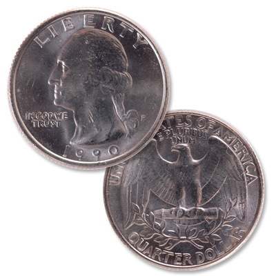 Image for 1990 Washington Quarter from Littleton Coin Company