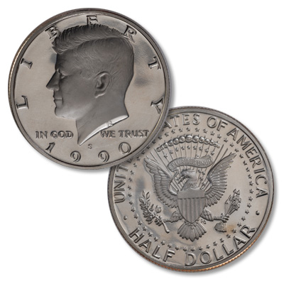 Image for 1990-S Kennedy Half Dollar from Littleton Coin Company