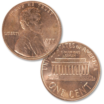 Image for 1977 Lincoln Head Cent from Littleton Coin Company