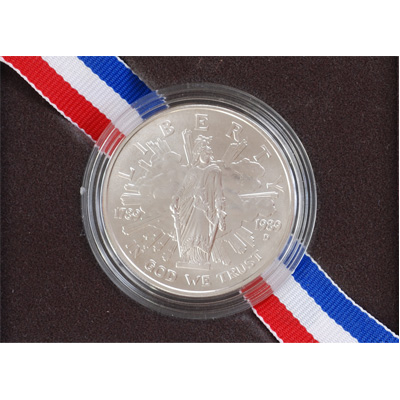 Image for 1989-D Congress Bicentennial Silver Dollar from Littleton Coin Company
