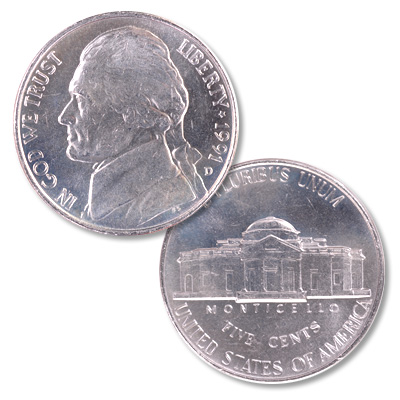 Image for 1991-D Jefferson Nickel from Littleton Coin Company