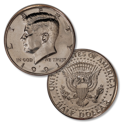 Image for 1991-P Kennedy Half Dollar from Littleton Coin Company