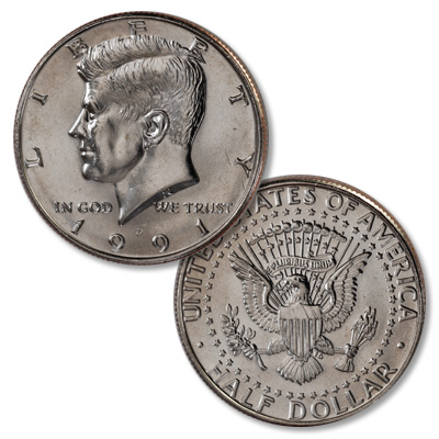 Image for 1991-D Kennedy Half Dollar from Littleton Coin Company