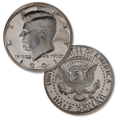 Image for 1991-S Kennedy Half Dollar from Littleton Coin Company