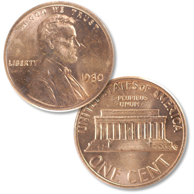 Image for 1980 Lincoln Head Cent from Littleton Coin Company