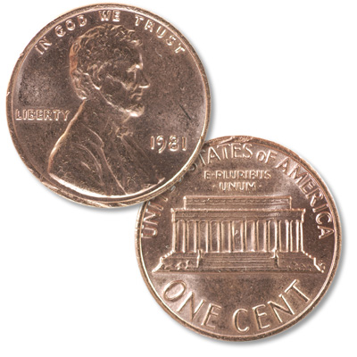 Image for 1981 Lincoln Head Cent from Littleton Coin Company