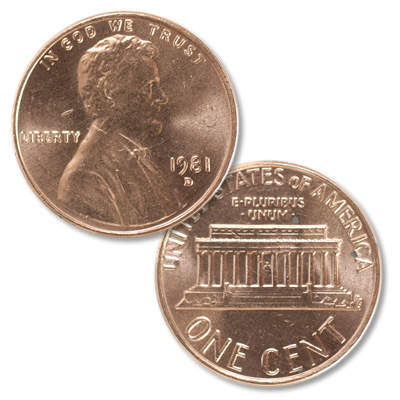 Image for 1981-D Lincoln Head Cent from Littleton Coin Company
