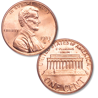 Image for 1983-D Lincoln Head Cent from Littleton Coin Company