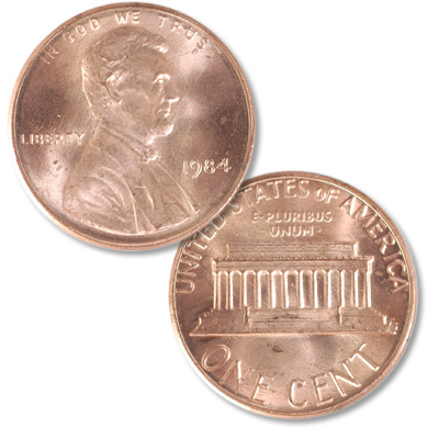 Image for 1984 Lincoln Head Cent from Littleton Coin Company