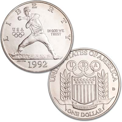 Image for 1992-D XXV Olympiad Silver Dollar from Littleton Coin Company