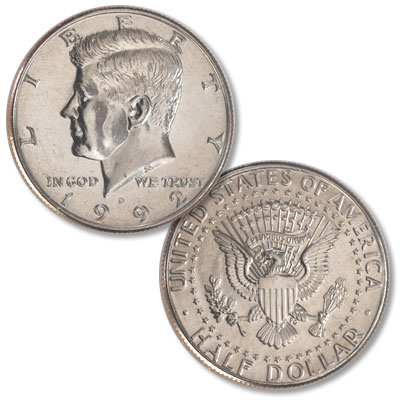 Image for 1992-D Kennedy Half Dollar from Littleton Coin Company