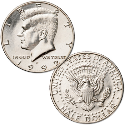 Image for 1992-P Kennedy Half Dollar from Littleton Coin Company
