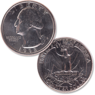 Image for 1992-D Washington Quarter from Littleton Coin Company