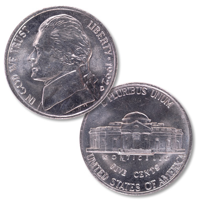 Image for 1992-D Jefferson Nickel from Littleton Coin Company