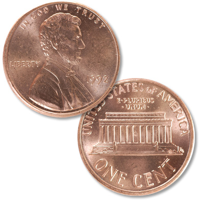 Image for 1992 Lincoln Head Cent from Littleton Coin Company