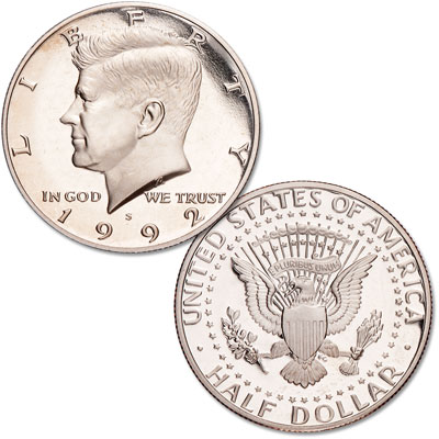 Image for 1992-S Clad Kennedy Half Dollar from Littleton Coin Company