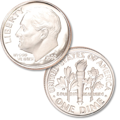 Image for 1992-S Roosevelt Dime from Littleton Coin Company