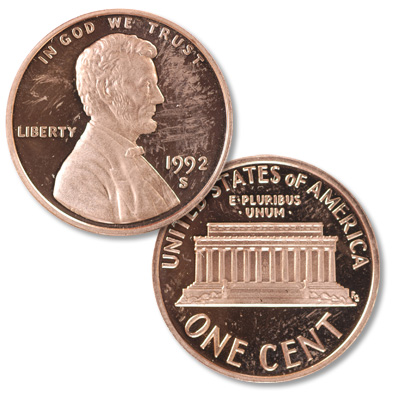 Image for 1992-S Lincoln Head Cent from Littleton Coin Company