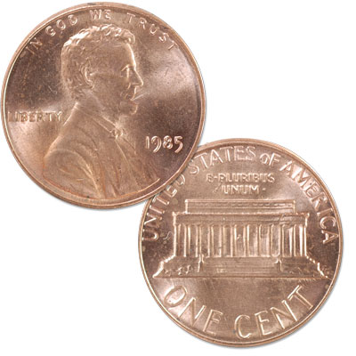 Image for 1985 Lincoln Head Cent from Littleton Coin Company