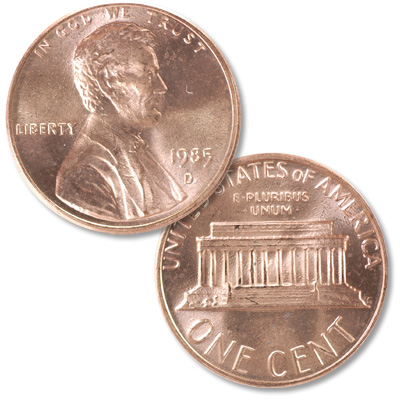 Image for 1985-D Lincoln Head Cent from Littleton Coin Company