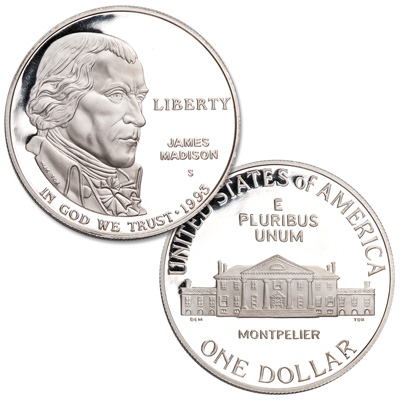 Image for 1993-S Bill of Rights Silver Dollar from Littleton Coin Company