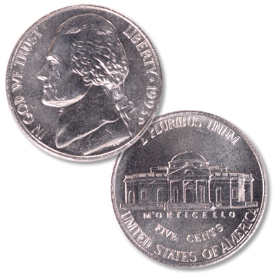 Image for 1993-D Jefferson Nickel from Littleton Coin Company