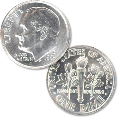 Image for 1993-D Roosevelt Dime from Littleton Coin Company