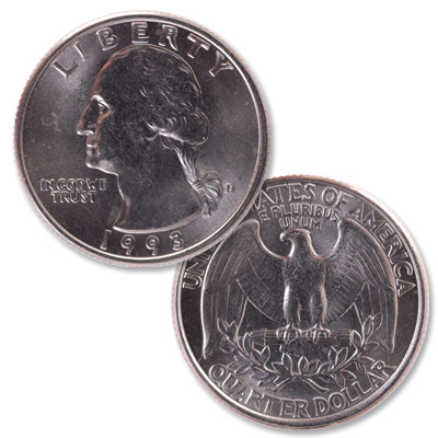 Image for 1993-D Washington Quarter from Littleton Coin Company