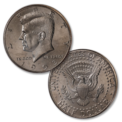 Image for 1993-P Kennedy Half Dollar from Littleton Coin Company