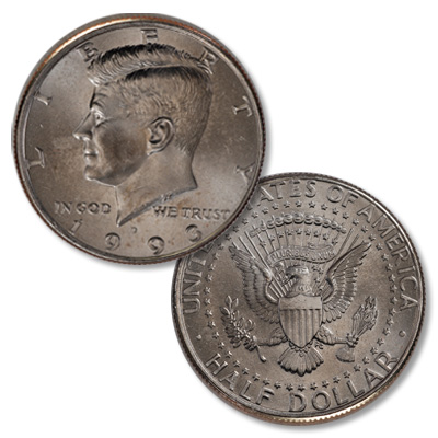 Image for 1993-D Kennedy Half Dollar from Littleton Coin Company