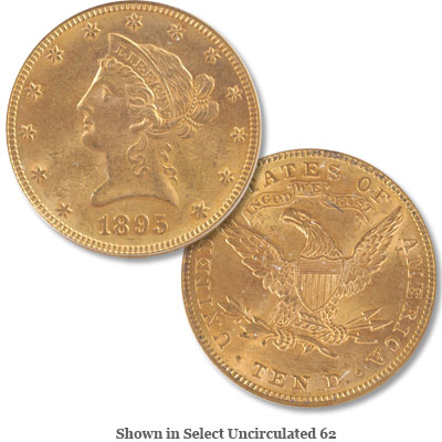 Image for 1895 Liberty Head Gold $10 Eagle from Littleton Coin Company