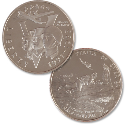 Image for 1993-P (1991-1995) 50th Anniversary of World War II Clad Half Dollar from Littleton Coin Company